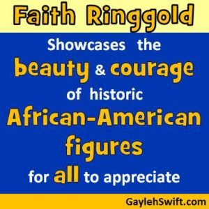 Faith Ringgold collage