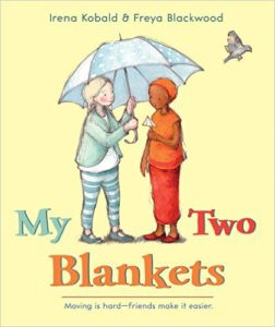 Holiday Blessings: Beyond Tinsel, Trinkets to compassion, welcome-my-two-blankets-51eryqdhk0l-_sx418_bo1204203200_