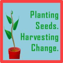 planting seeds. harvesting change